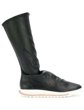 Rick Owens Hood Off The Runway Dirt Grafton Sock Shoeshome Men Rick Owens Shoes Boots by Rick Owens