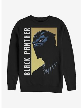 Marvel Black Panther Fierce Expression Sweatshirt by Hot Topic