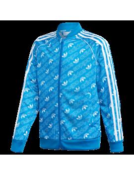 Adidas Originals Repeating Trefoil Track Top by Adidas Originals