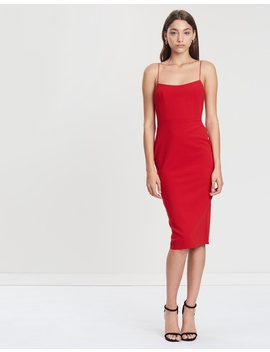 Zane Stretch Singlet Lady Dress by Alex Perry