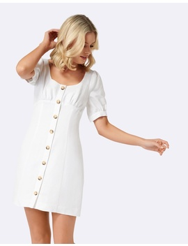 Portia Button Through Dress by Forever New