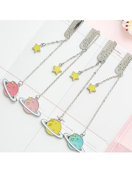 Colorful Star Pendant Bookmark Stationery School Office Supply Escolar Papelaria by House Of Novelty