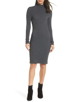Petra Textured Rib Body Con Dress by French Connection