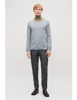 Square Neck Merino Jumper by Cos