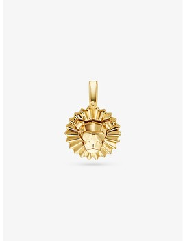 14 K Gold Plated Sterling Silver Rory Charm by Michael Kors