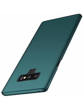 Anccer Galaxy Note 9 Case [Colorful Series] [Ultra Thin] [Anti Drop] Premium Material Slim Full Protection Cover For Samsung Galaxy Note9 (Gravel Green) by Anccer
