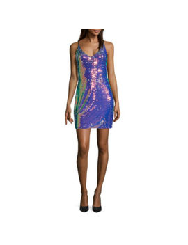 By&By Sleeveless Bodycon Dress Juniors by By And By