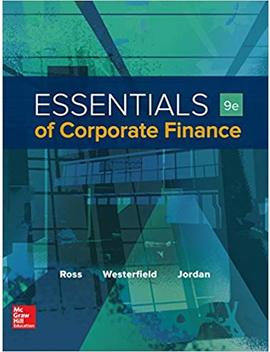 Ebook Online Access For Essentials Of Corporate Finance (Mcgraw Hill/Irwin Series In Finance, Insurance, And Real Estate) by Amazon