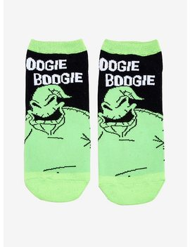 The Nightmare Before Christmas Oogie Boogie No Show Socks by Hot Topic