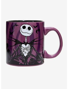The Nightmare Before Christmas Jack Hypno Swirl Mug by Hot Topic