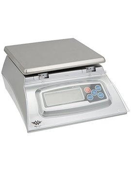 Kitchen Scale   Bakers Math Kitchen Scale   Kd8000 Scale By My Weight, Silver by My Weigh