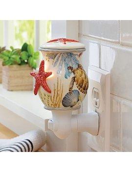 Better Homes & Gardens Ceramic Sea Life Wall Accent Scented Wax Warmer by Better Homes & Gardens