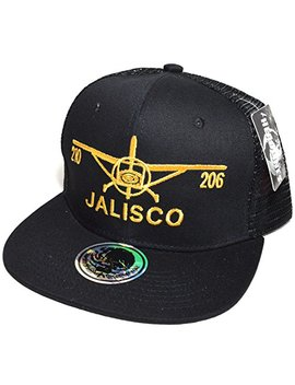 Mexico City Embroidered #03 Snapback Flat Visor Trucker Style Cap Baseball Hat by Headlines
