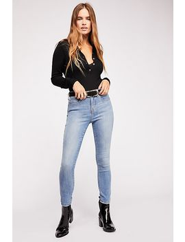Crvy High Rise Super Skinny Jeans by Free People