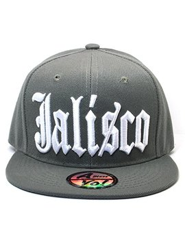 Abless Yo Jalisco Mexico City Fitted Hat Closed Back Flat Bill Snapback Cap Ayo4316 by Abless Yo
