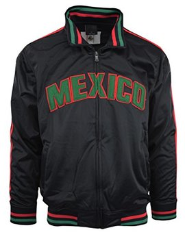 Choice Apparel Men's Mexico Track Jacket by Choice Apparel