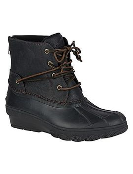 Saltwater Wedge Tide Duck Boot by Sperry