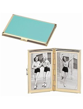 Kate Spade New York Garden Drive Hinged Pocket Frame, Turquoise by Kate Spade New York