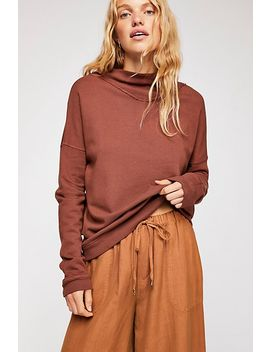 Sydney Mock Neck Pullover by Free People