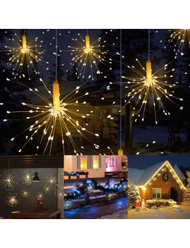 Firework Led Copper Wire Strip String Lights For Wedding Decor Led Fairy Lights by Ebay Seller