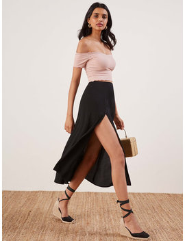 Petites Zoe Skirt by Reformation