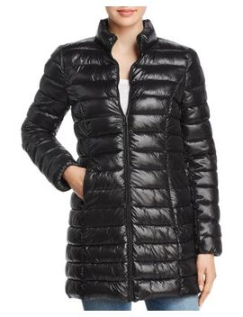 Packable Puffer Coat   100 Percents Exclusive by Aqua