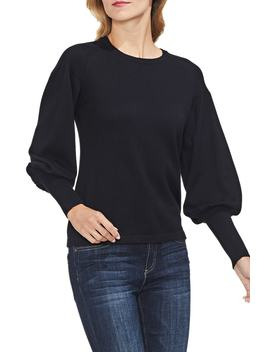Blouson Sleeve Sweater by Vince Camuto