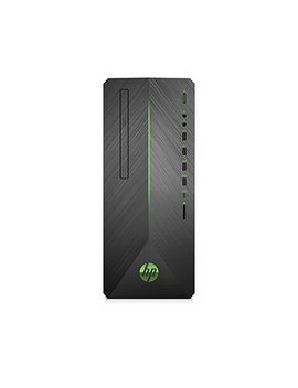 Hp Pavilion Gaming Desktop Computer, Intel Core I3 8100, Nvidia Ge Force Gtx 1050, 8 Gb Ram, 1 Tb Hard Drive, Windows 10 (790 0010, Black) by Hp