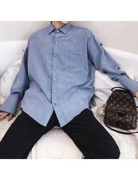 Bjorn   Pocketed Plain Shirt by Bjorn
