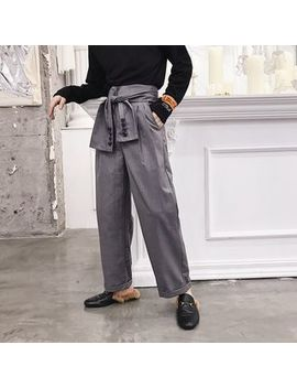 Bjorn   Tie Waist Wide Leg Pants by Bjorn