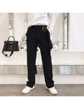 Bjorn   Single Strap Suspender Pants by Bjorn