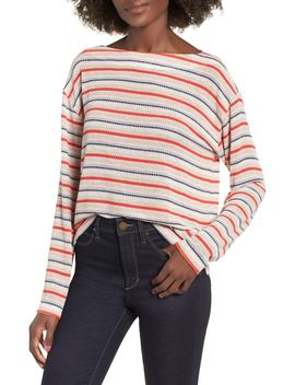 Stripe Knit Tee by Socialite