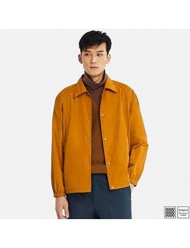 Men U Pocketable Coach Jacket by Uniqlo