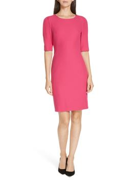 Daletana Soft Twill Dress by Boss