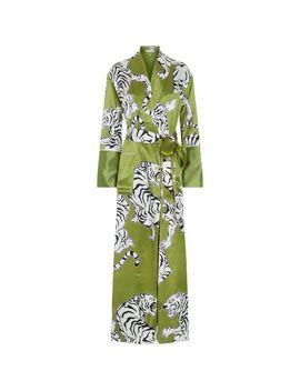 Women's Green Capability Rola Robe by Olivia Von Halle