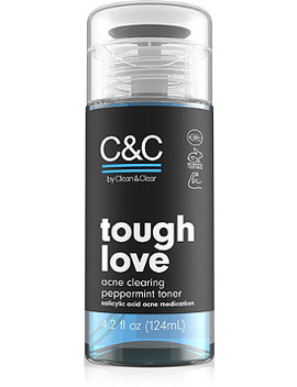 Tough Love Acne Clearing Toner by C&C By Clean & Clear