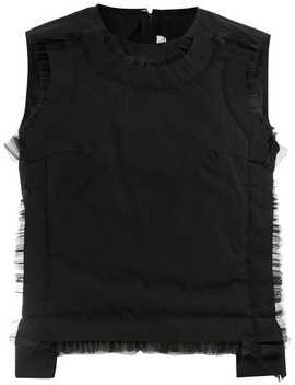 Sheer Detail Waiscoat by Comme Des Garçons