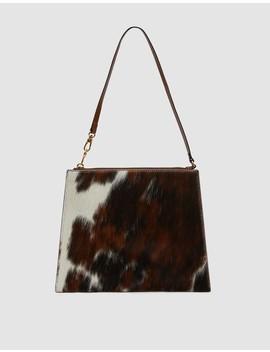 Ellsworth Calf Hair Zip Pocket Bag by Trademark