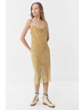 Third Form Rumba Animal Print Slip Dress by Third Form