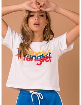 Wrangler Sport Tri Tee White by Wrangler