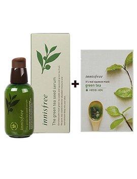 Innisfree The Green Tea Seed Serum 100 Percents Organic Ingredient 2.7 Oz/80 Ml (Including A Sample) by Innisfree