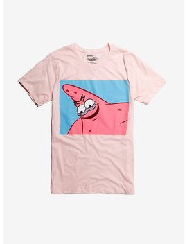 Sponge Bob Square Pants Patrick Eyelids T Shirt by Hot Topic