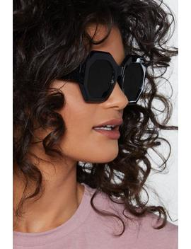 Do You Want These Hexagonal Shades by Nasty Gal