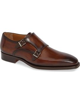 Landon Double Strap Monk Shoe by Magnanni