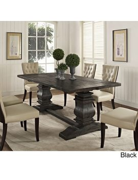 Column Wood Dining Table by Modway