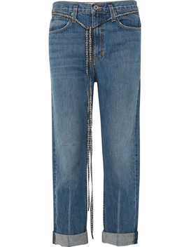 Pswl Canvas Trimmed Jeans by Proenza Schouler