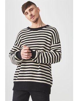 Oversized Crew Knit by Cotton On