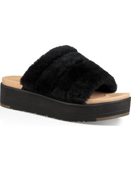 Fluff Yeah Genuine Shearling Slide Sandal by Ugg®