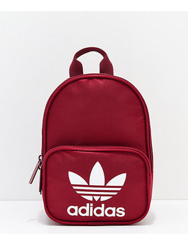 Adidas Santiago Collegiate Burgundy Mini Backpack by Adidas