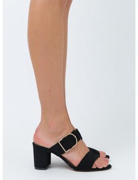 Billini Whitney Black Suede by Billini